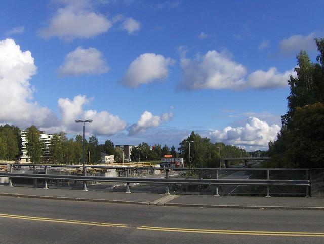 Hämeenlinnan moottoritiekate ja Goodman-kauppakeskus: Työmaan lähtötilanne 3.9.2011 - kuva 14