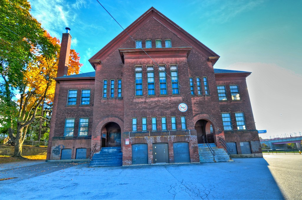 Ward Street School-Millbury Street - Worcester MA