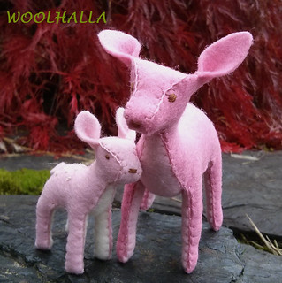 Pink Mama and Fawn Set