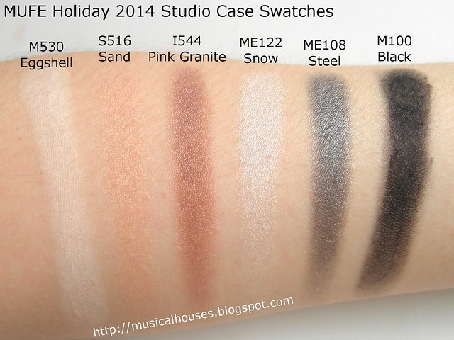 MUFE Studio Case  Swatches 1