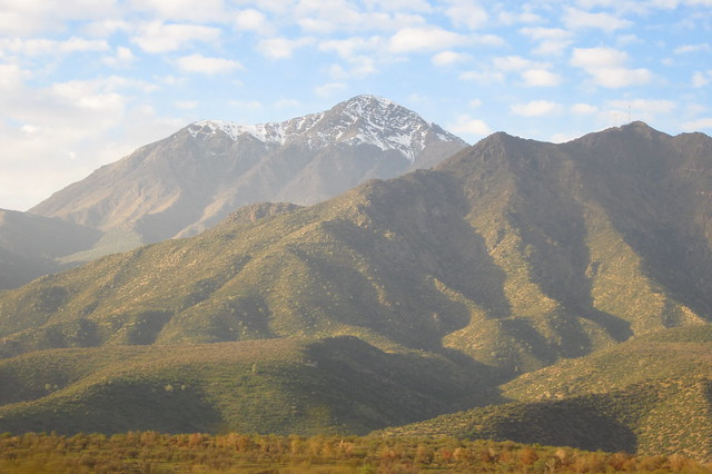 Views from the Ride Between Mendoza, Argentina and Santiago, Chile