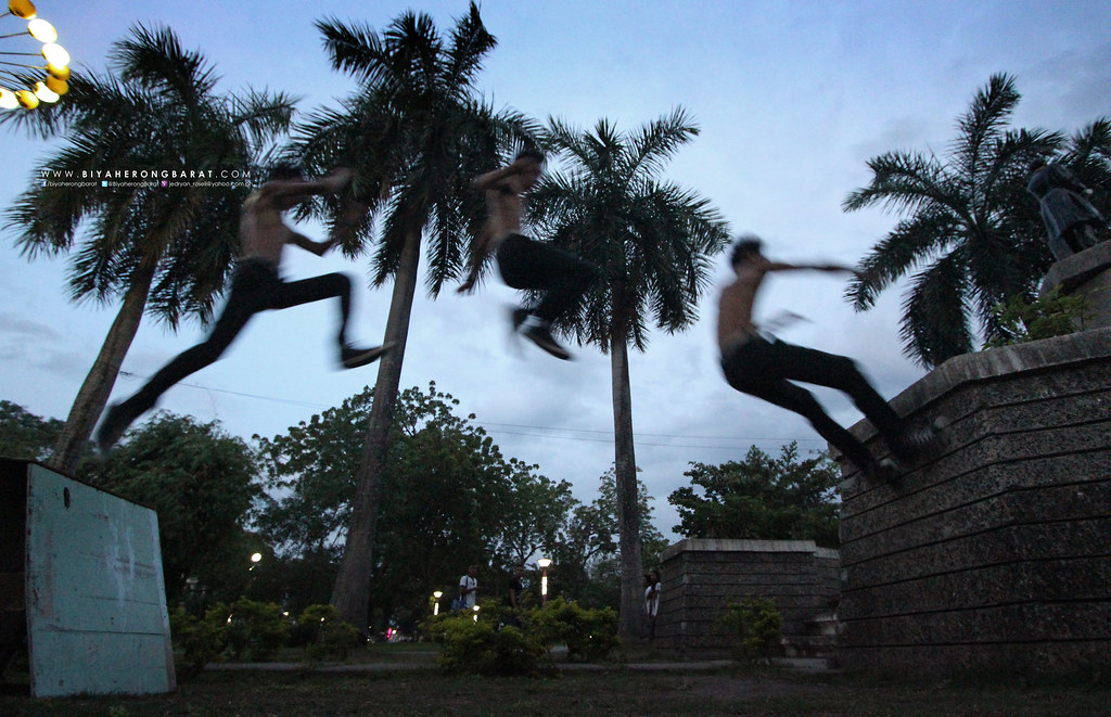 Gensan General Santos City parkour