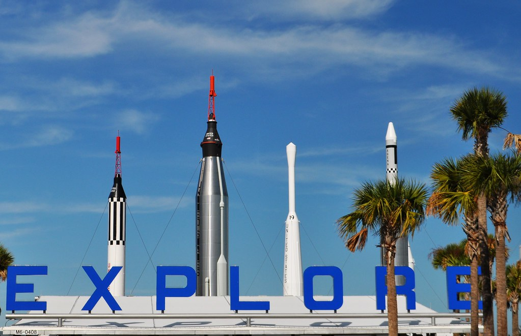 """Explore"" - Kennedy Space Center Visitor Complex, Florida's Space Coast, Nov. 7, 2014"