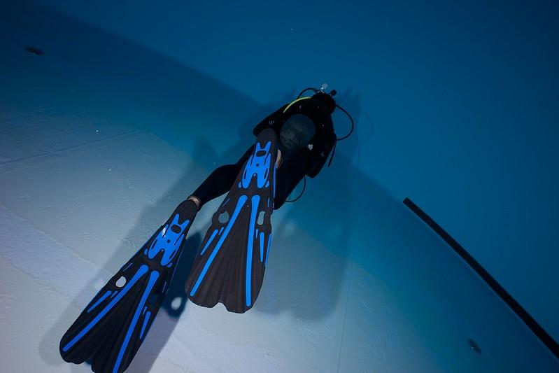 Indoor Diving avec le 15 mm Nikonos 15767775385_3628dd9056_c