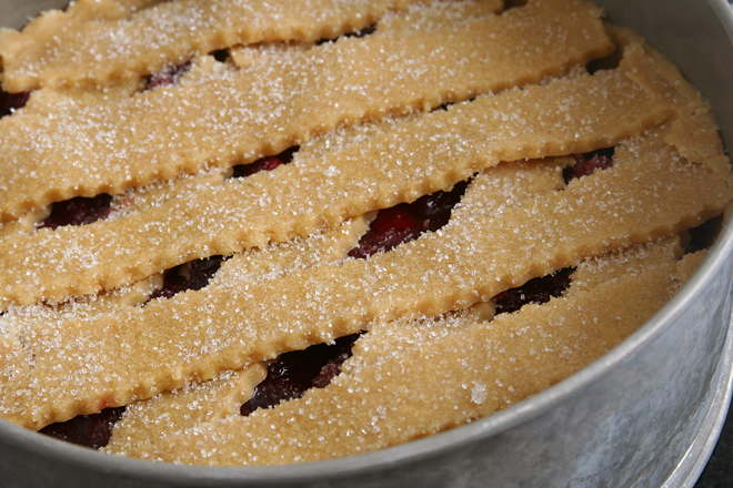 cranberry crostata 4