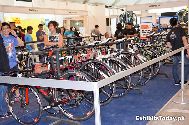 Mountain Bikes for Sale at the Phil-Bike Expo