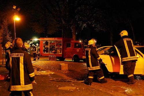 Einsatzübung Feuerwehr Ragow #4