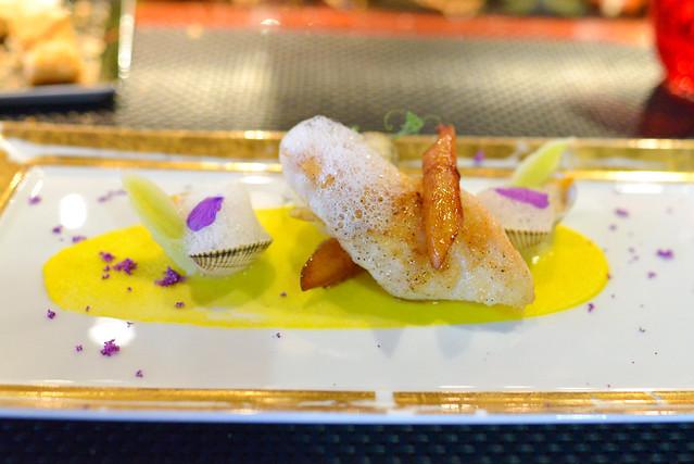 LE SAINT-PIERRE john dory, salsify confit, lemon chiffon, sweet almond