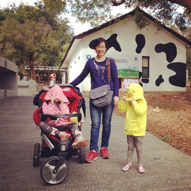 #東海乳品小棧 #東海大學 #family #mygirls #daughterandmonther