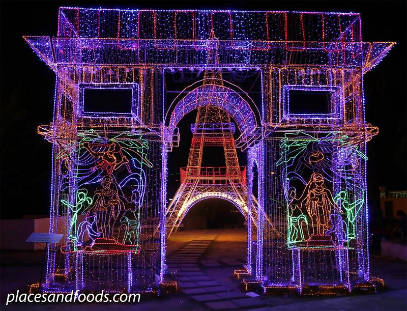 hatyai park lantern festival paris
