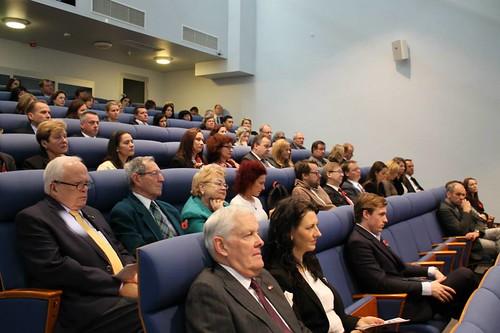 British Week Opening Freeport of Riga Conference hall