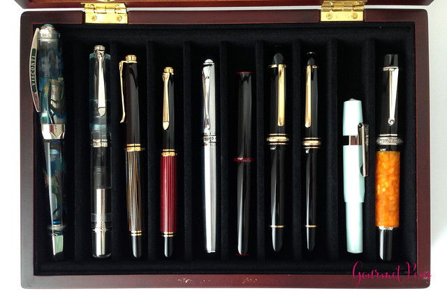 Review 10 Pen Glass Display Case @FancyGiftIdeas