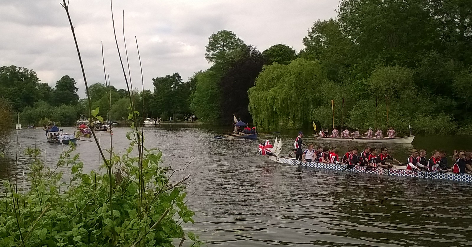 Runnymede regatta 800th anniversary of Magna Carta