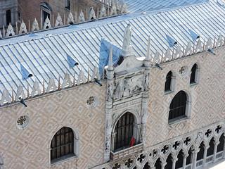 Image of Doge's Palace near Venice. ヴェネツィア venice venezia βενετία