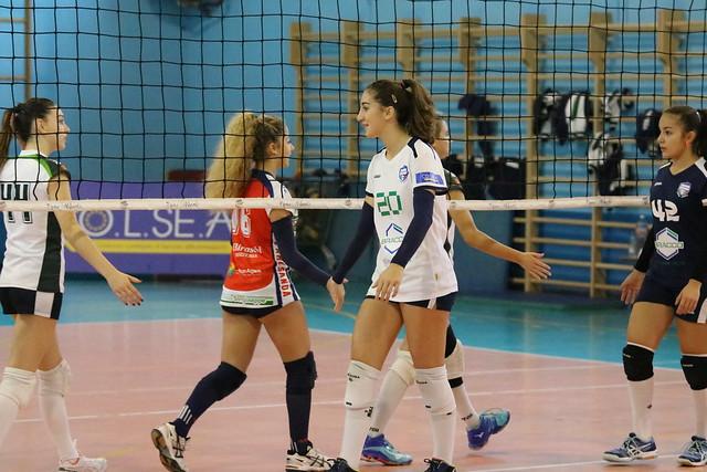 Campionato FIPAV U16 Bianca 6 Novembre 2016 Palanatta Pro Patria  - Sanda Volley 3-0