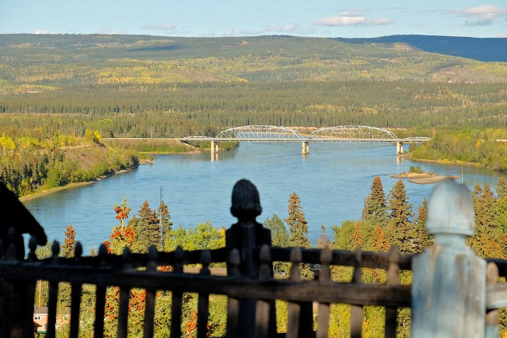 Yukon River Bridge in Carmacks