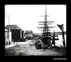 SOBRAON at Queen's Wharf, Circular Quay, February 1871