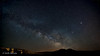 The milky way & Saturn over Viana mountains