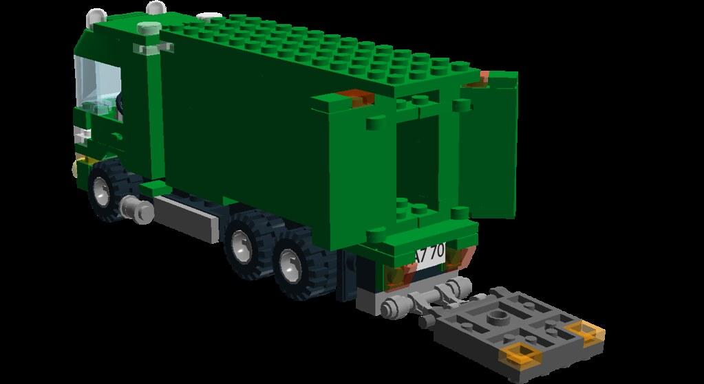 Irish Post Truck - 08 - Tail Lift