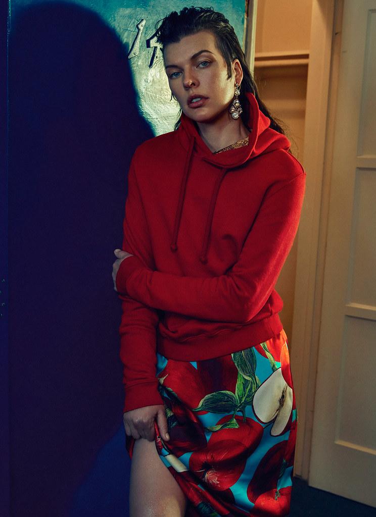 Милла Йовович — Фотосессия для «Vogue» UA 2016 – 13