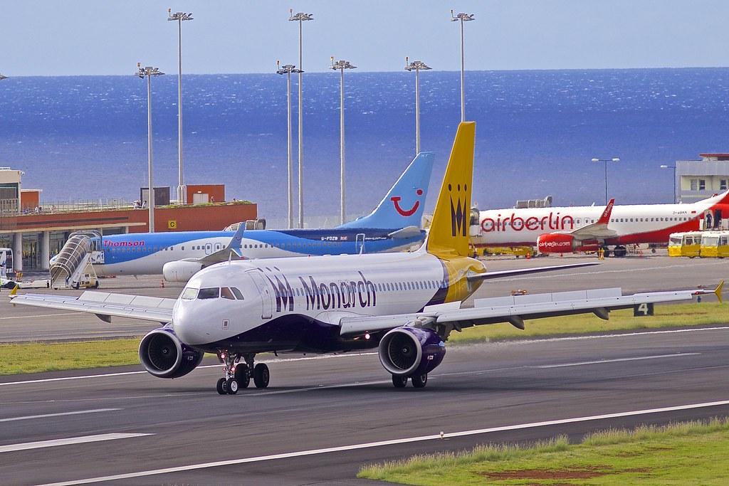 FNC/LPMA: Monarch Airbus A320-214 G-xxxx