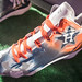 Under Armour unveils special Astros cleats at the Winter Meetings.