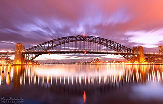 Sydney Harbour Brige Sunrise