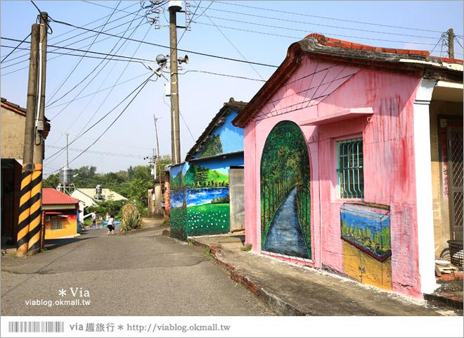 【關廟彩繪村】新光里彩繪村~在北寮老街裡散步‧遇見全台最藝術風味的彩繪村18