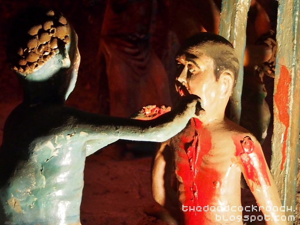 aw boon haw, aw boon par, chinese values, folklore, haw par villa, mythology, sculptures, statues, ten courts of hell, tiger balm, tiger balm garden, 虎豹别墅, singapore, where to go in singapore,seventh court of hell,yama,king taishan