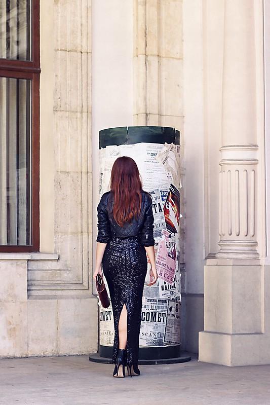 sequin maxi skirt 3