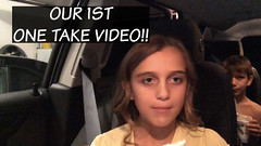 Thumbnail image for Our 1st One Take Video