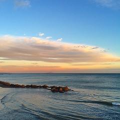#visioni #mare #spiaggia #tramonto #cielo #priorità