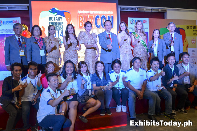 Bizcon 2014 Officials and Special Guests with Best Class Presidents