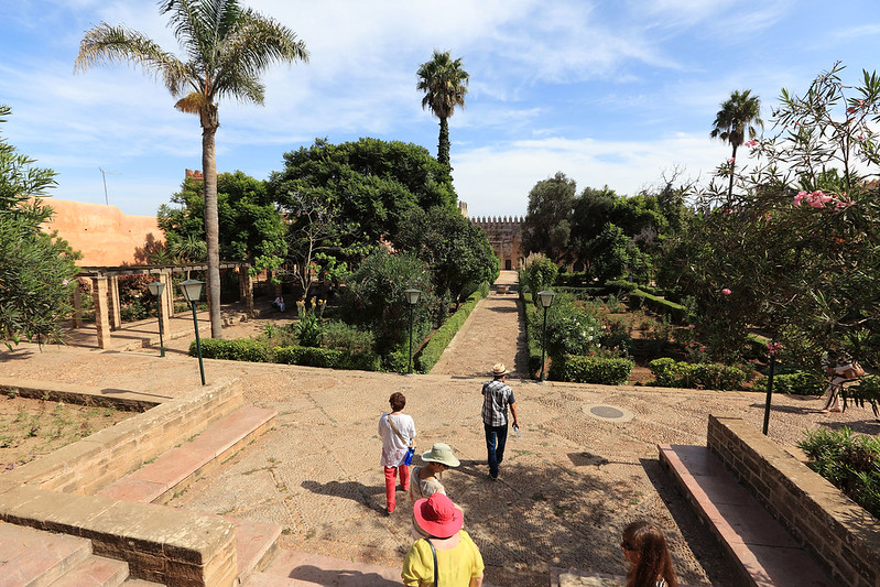 Kasbah garden
