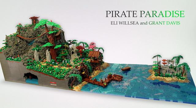 Pirates paradise the brothers brick the brothers brick - Ile pirate lego ...
