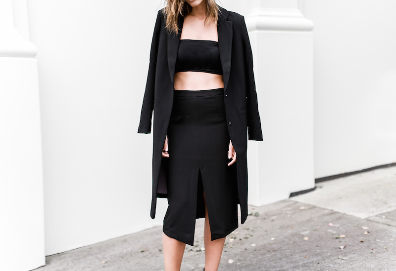 MODERN LEGACY x ASOS Spring Racing All Black outfit street style (10 of 10)