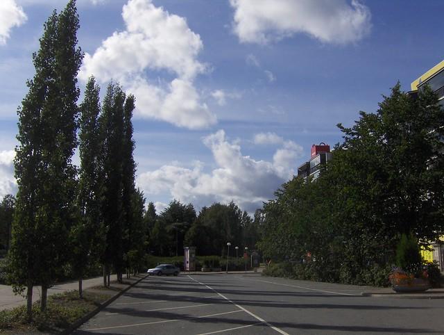 Hämeenlinnan moottoritiekate ja Goodman-kauppakeskus: Työmaan lähtötilanne 4.9.2011 - kuva 15