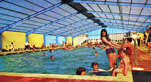 Pontins Camber Sands Holiday Camp - Photo from 1972 brochure