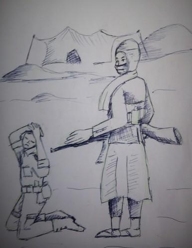 Rebels and the Malian military