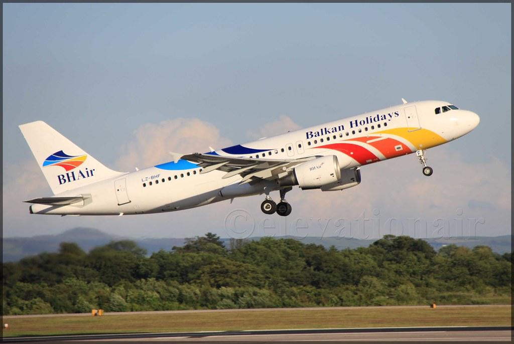 LZ-BHF Airbus A320-214 Balkan Holidays