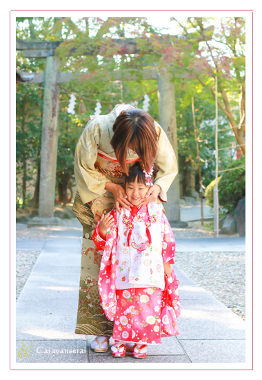 七五三写真 出張撮影 白山神社 愛知県日進市 日進市運動公園 家族写真 ナチュラル 自然