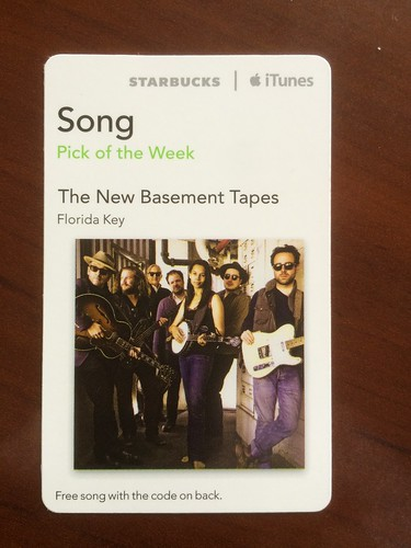 Starbucks iTunes Pick of the Week - The New Basement Tapes - Florida Key