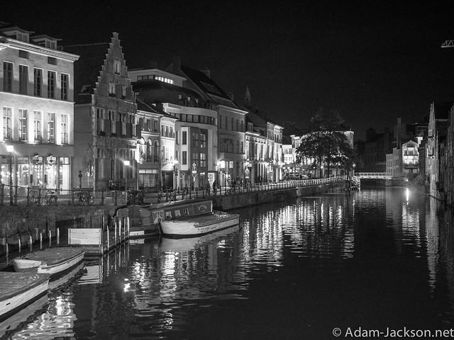 Gent Belgium @ Night