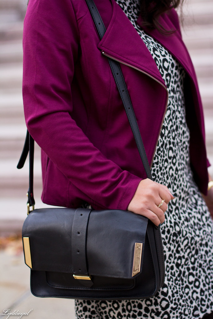 leopard dress, purple moto jacket, black boots-5.jpg