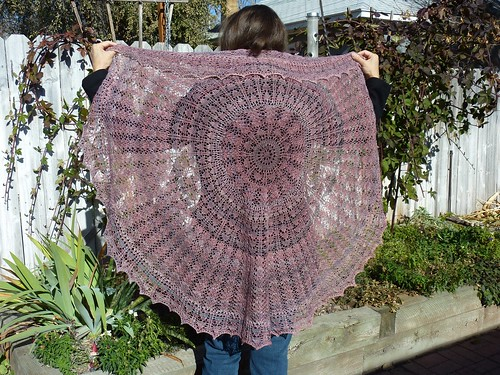 Big Heart shawl