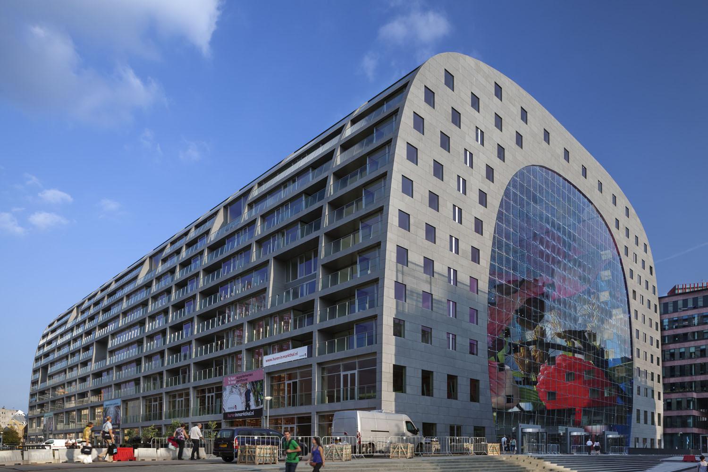 Markthal Rotterdam design by MVRDV