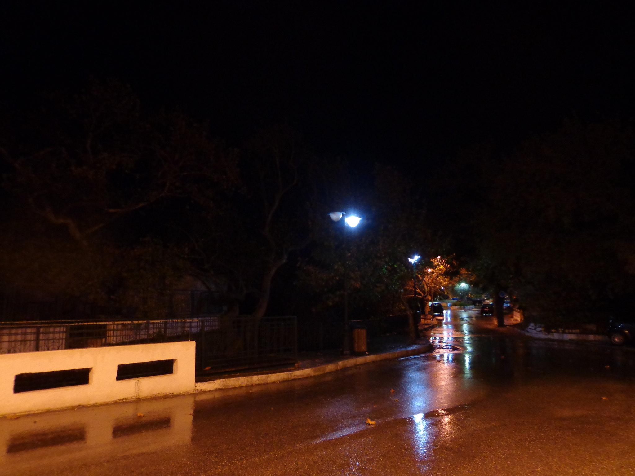 Ψίνθος Φθινόπωρο 2014 - Ξαφνική νυχτερινή καταιγίδα.