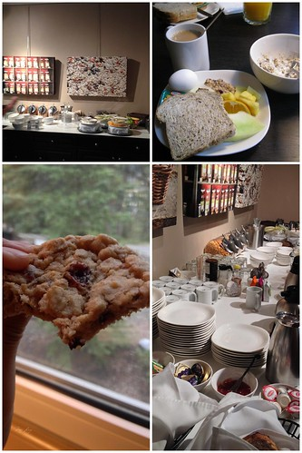 Banff Boutique Inn breakfast buffet