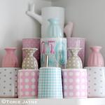 Pretty pastel mugs