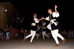 Macedonians at traditional Greek dances, Sitaria village, Florina, Greece #Μacedonia